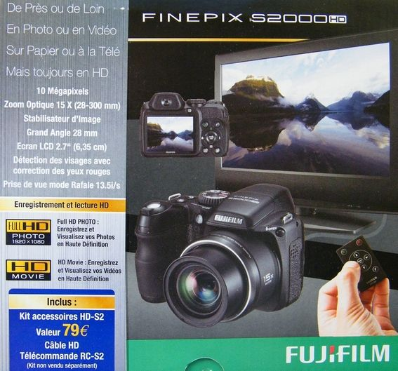 Fujifilm finepix s2000hd test for Fujifilm finepix s2000hd prix neuf